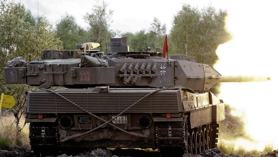 »Leopard 2«-Panzer