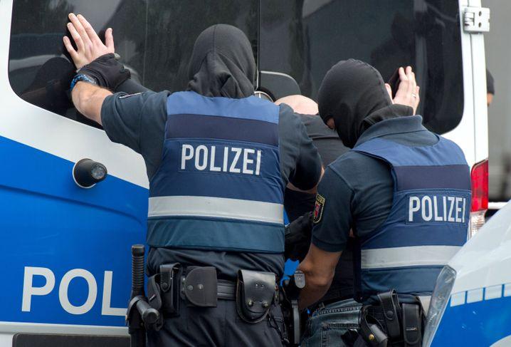Einsatz gegen organisierte Kriminalität in Frankfurt (Archiv)