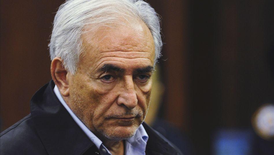 IWF-Chef Strauss-Kahn vor Gericht: Düstere Vorahnung eines Unschuldigen?