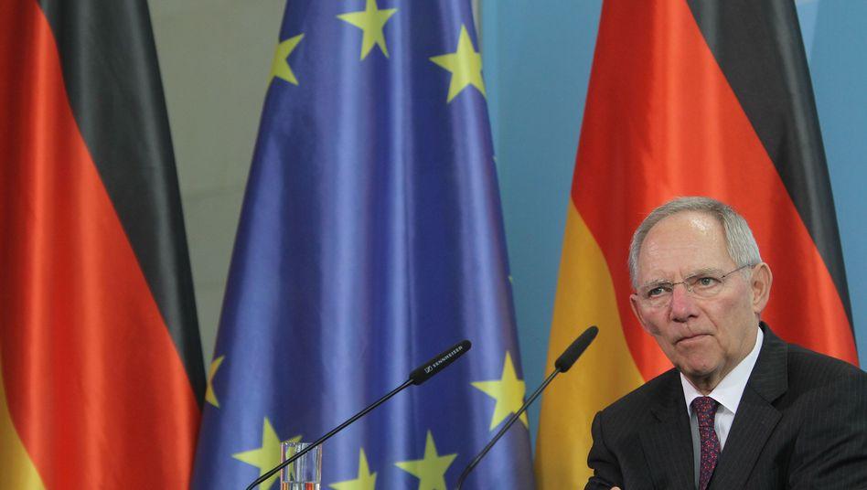 """Wolfgang Schäuble: Steuersenkungen """"in Grenzen möglich"""""""