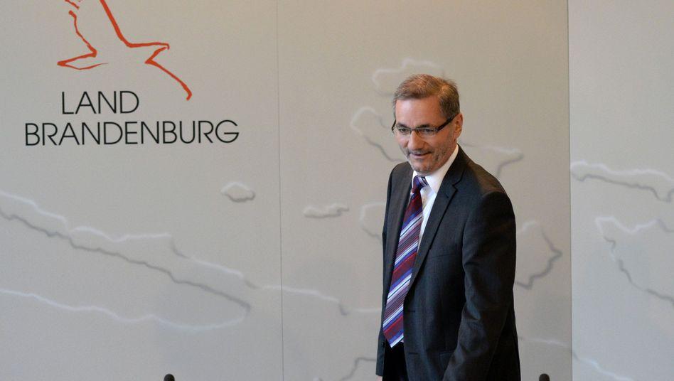 Brandenburg: Ministerpräsident Platzeck tritt zurück