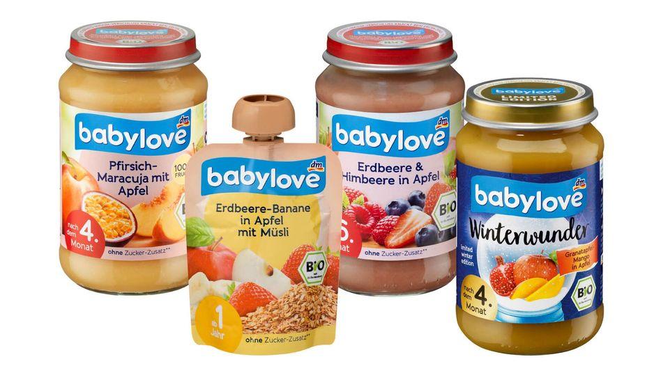 """Verschiedene """"babylove""""-Produkte"""