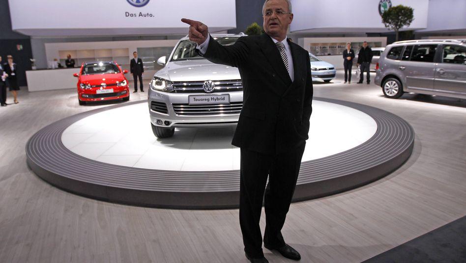 Volkswagen-Chef Winterkorn: Aussicht auf Unmut in der Lastwagensparte