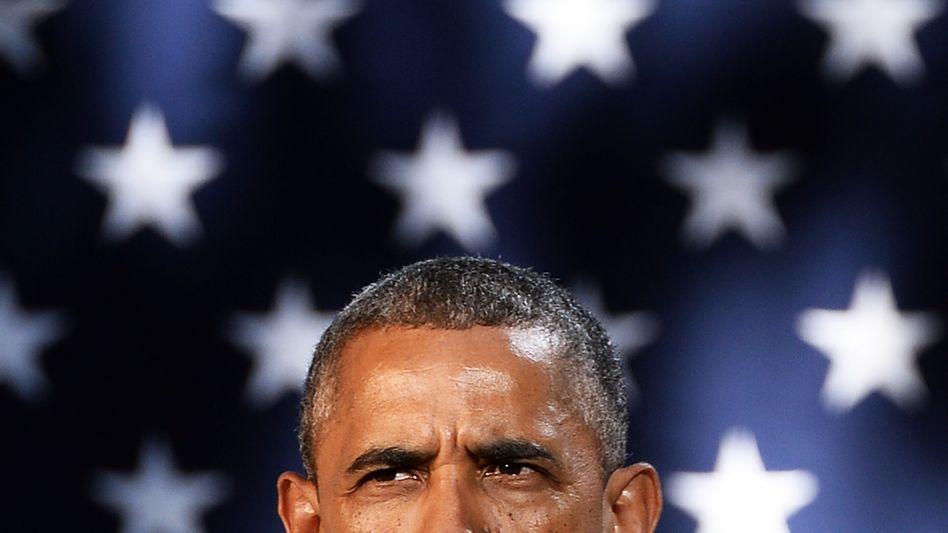 US-Präsident Obama: Bisher nicht mit Merkel telefoniert