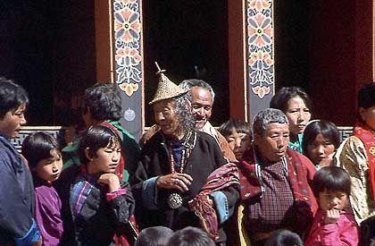 Klosterfest in Punakha: Mysterienspiele nach den Legenden des tantrischen Buddhismus