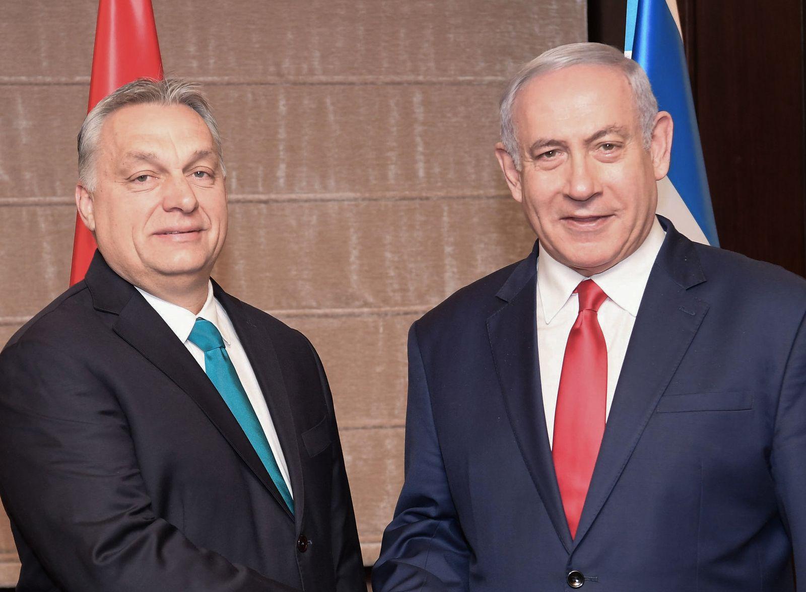 Ungarischer Ministerpräsident in Jerusalem