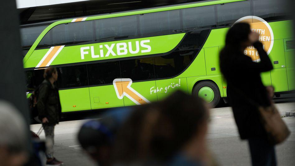 Flixbus-Fahrzeug