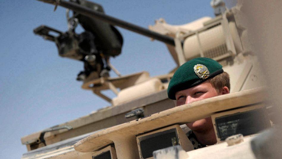 Soldat der Quick Reaction Force in Afghanistan: 69 Prozent der Bürger für schnellen Abzug