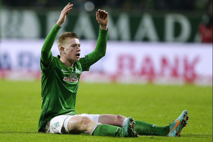 Mittelfeldspieler de Bruyne: Von Bremen und Wolfsburg umworben