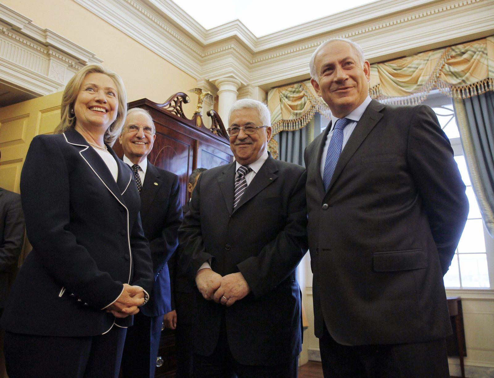 Abbas & Netanjahu & Clinton
