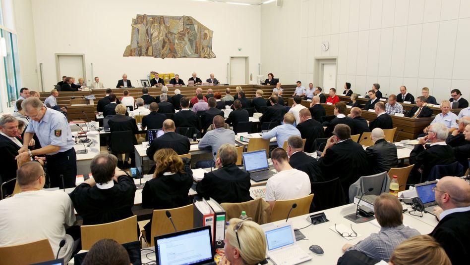 Prozessbeginn in Koblenz 2012
