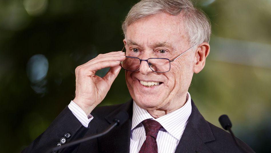 Horst Köhler im März in Genf: Der ehemalige Bundespräsident gilt als Afrikakenner