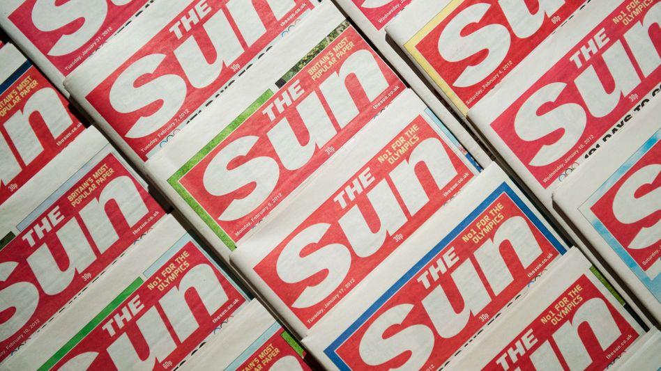 """""""Sun""""-Titelseiten 2012"""