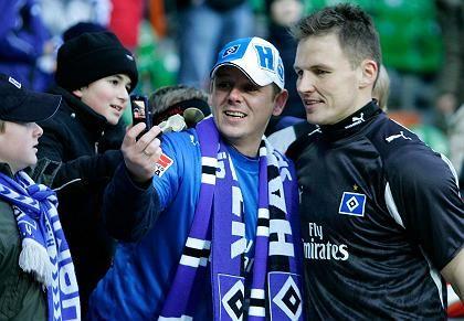 """HSV-Torwart Rost mit Anhänger: """"Nicht zu Lasten der echten Fans"""""""