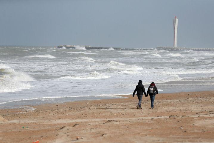 Strand von Ostende (Belgien)