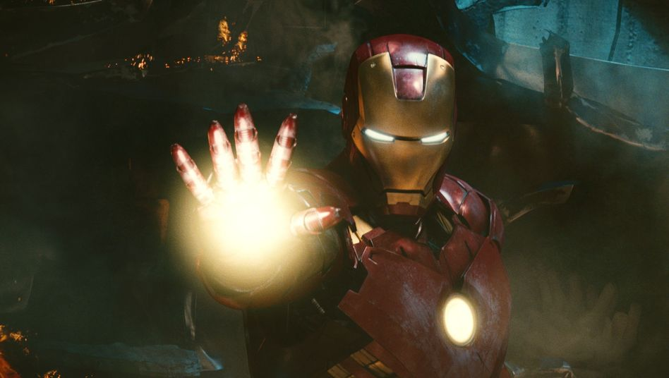 """""""Iron Man"""" (Symbolbild): 1600 Euro für ein Bild mit Heldenkostüm"""