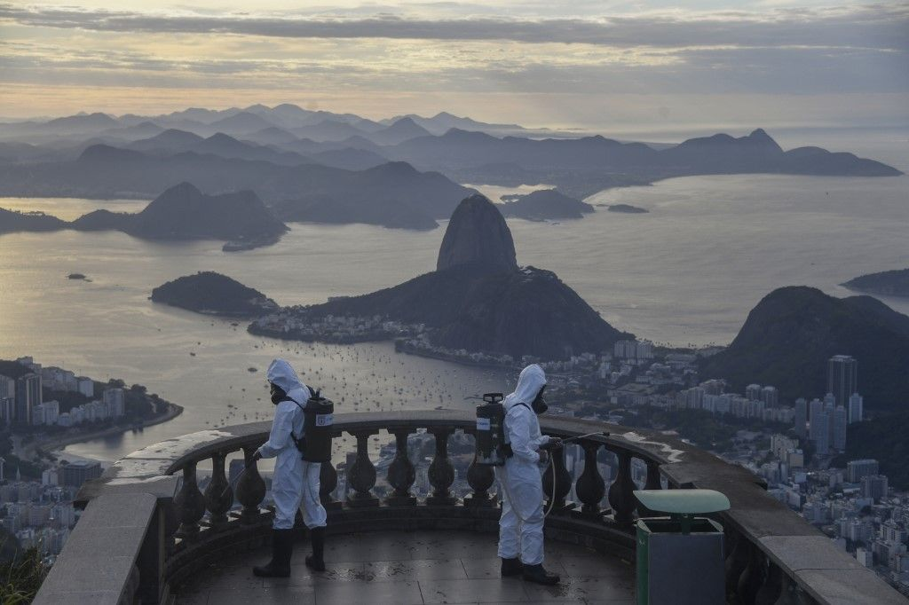 BRAZIL-HEALTH-VIRUS-CHRIST THE REDEEMER