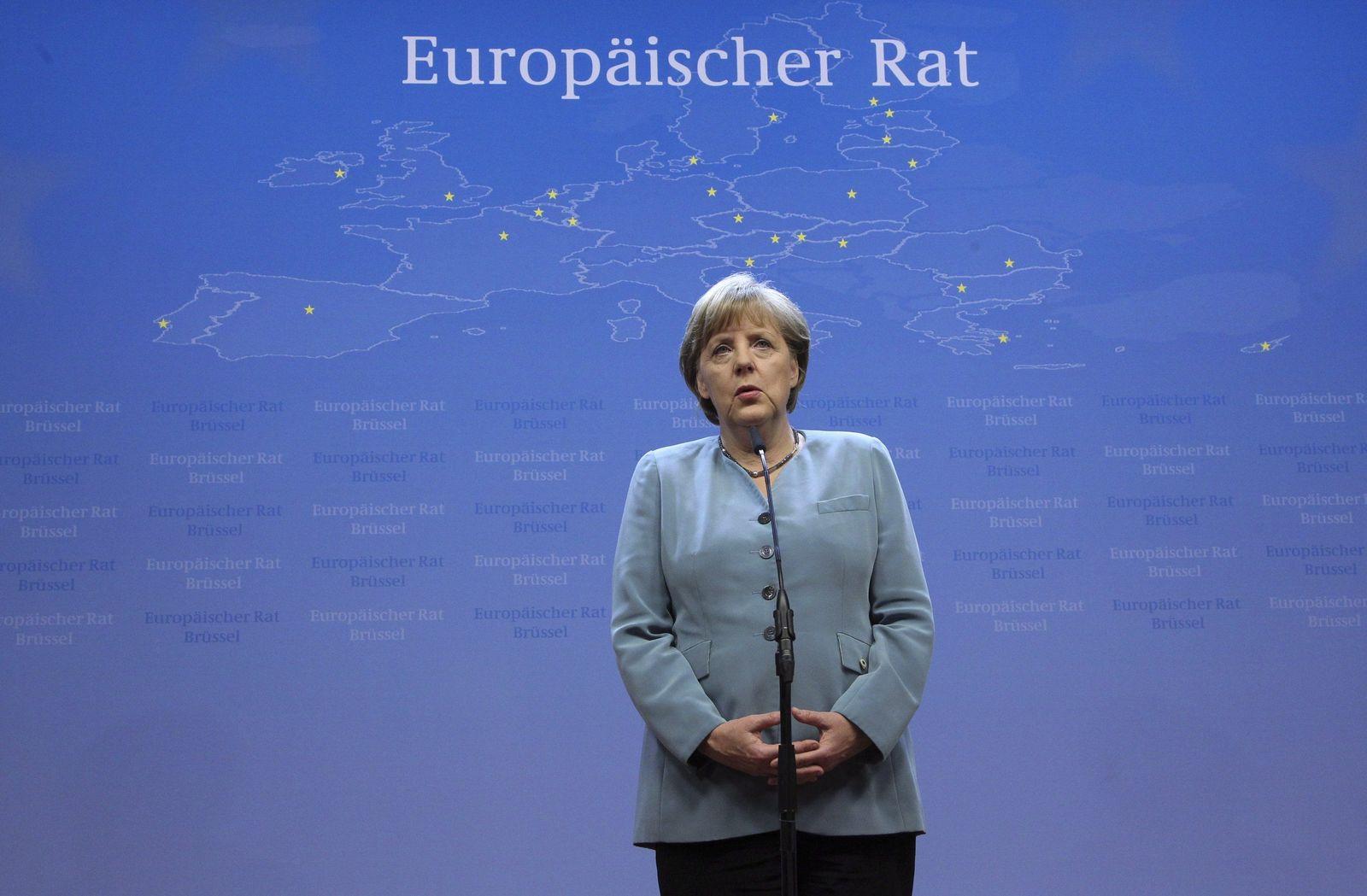 Merkel / Europäischer Rat