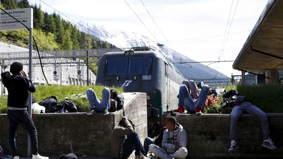 Flüchtlinge am Brenner