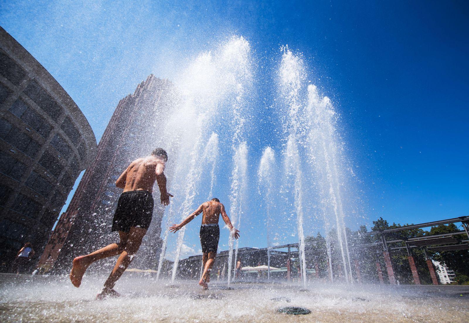 Sommer Hitze Kühlung