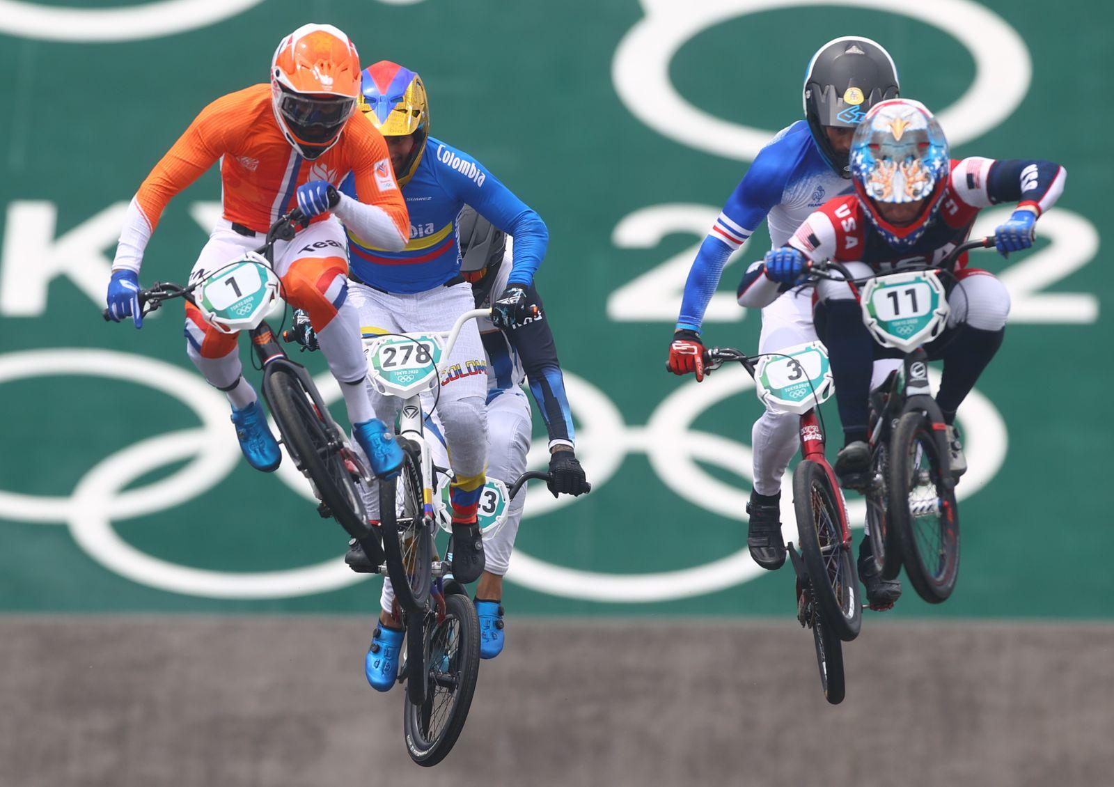 BMX Racing - Men's Individual - Semifinal