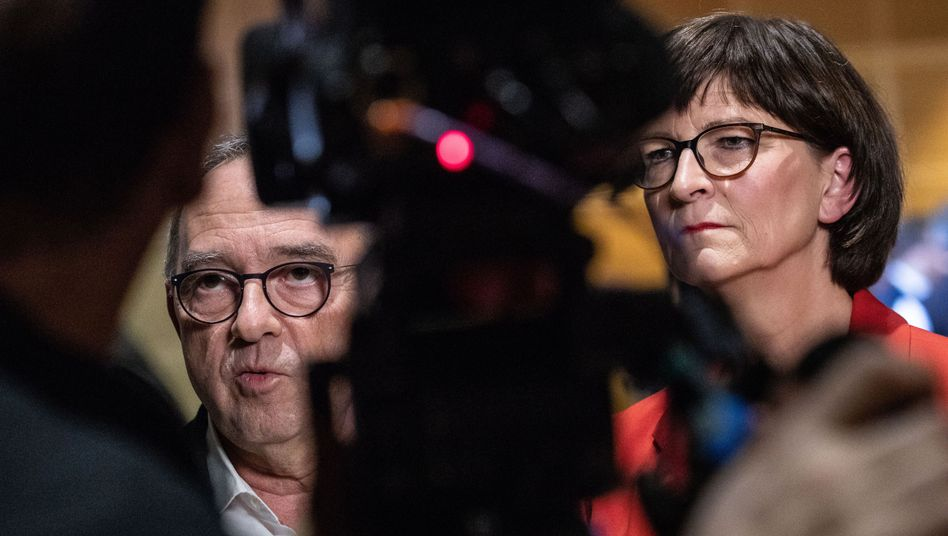 Norbert Walter-Borjans und Saskia Esken: Können sie ihre GroKo-Forderungen durchsetzen?