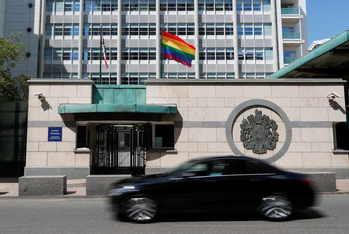Britische Botschaft in Moskau: Ein Signal für Toleranz