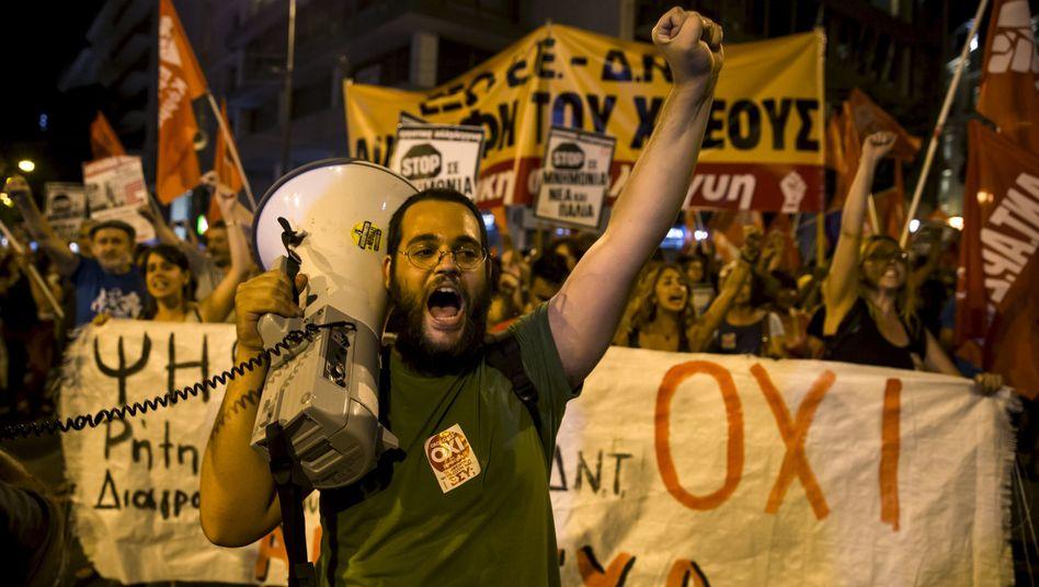 Sieg für die Neinsager: Griechenland wählt eine ungewisse Zukunft
