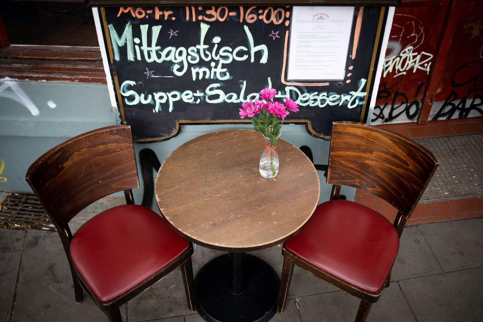 Coronavirus - Restaurants in Hamburg öffnen