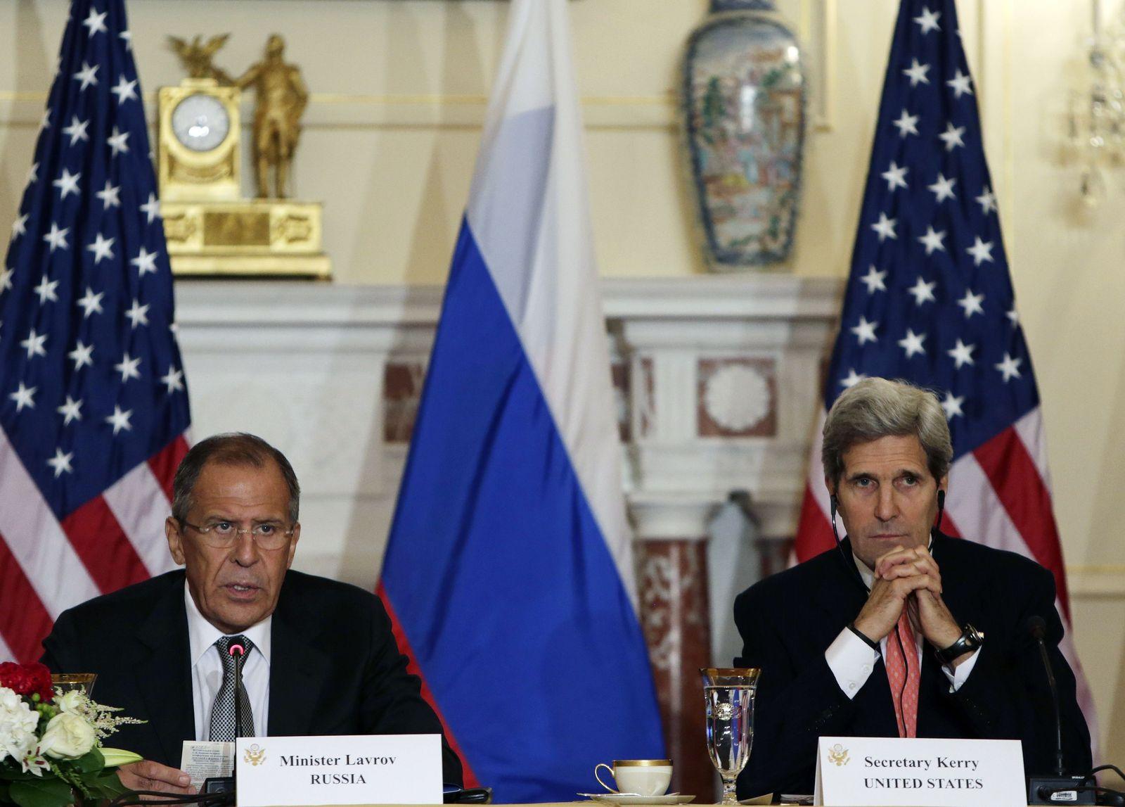 USA-RUSSIA/ Lawrow und Kerry