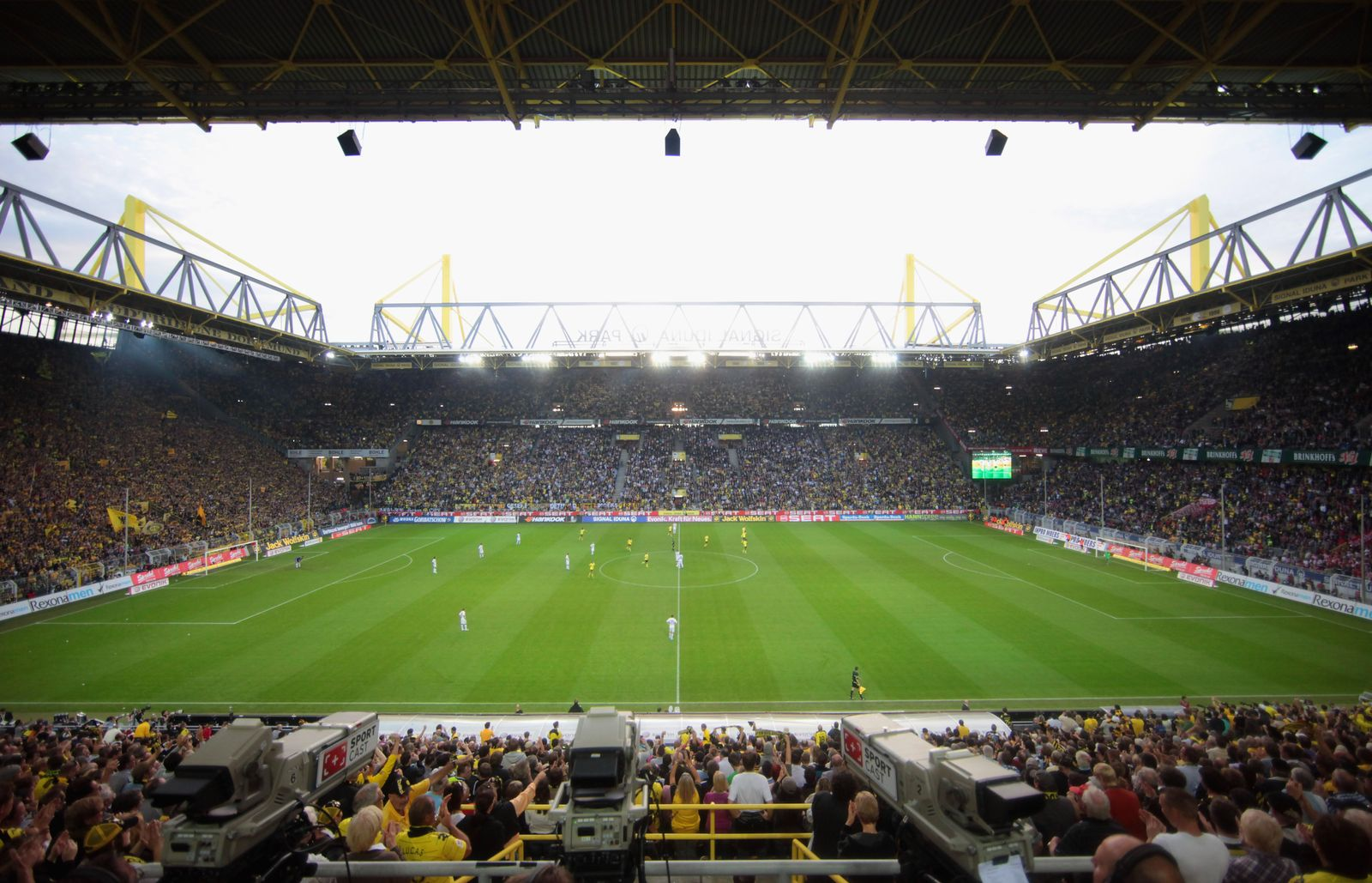 Signal Iduna Park / Dortmund vs Bayern 2010