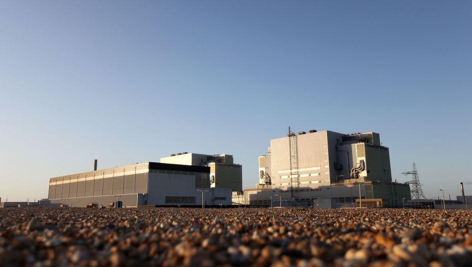 Atomkraftwerk Dungeness an der Südküste Englands: Zwischenfall