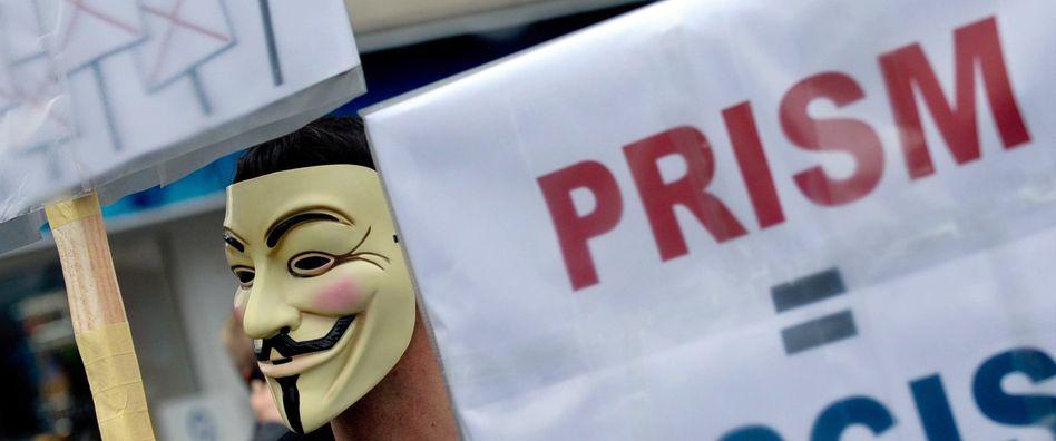 Protest gegen Prism in Hannover: NSA bestätigt mehrere Spähprogramme