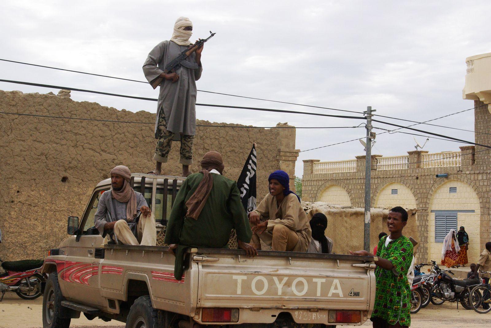 Mali islamistische Kämpfer