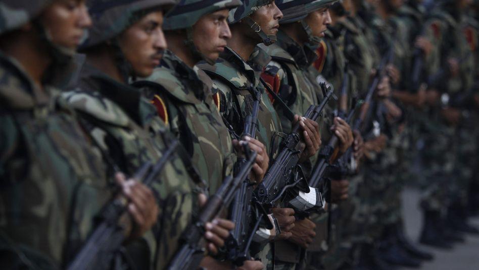 Soldaten in Kairo: Das Militär hat Mohammed Mursi abgesetzt
