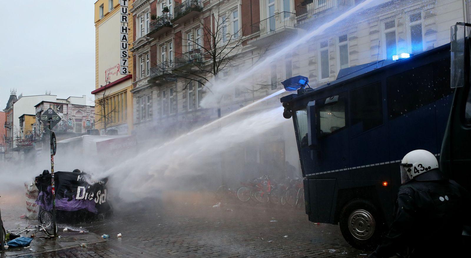 Hamburg/ Demonstration/ Ausschreitungen/ Schanzenviertel