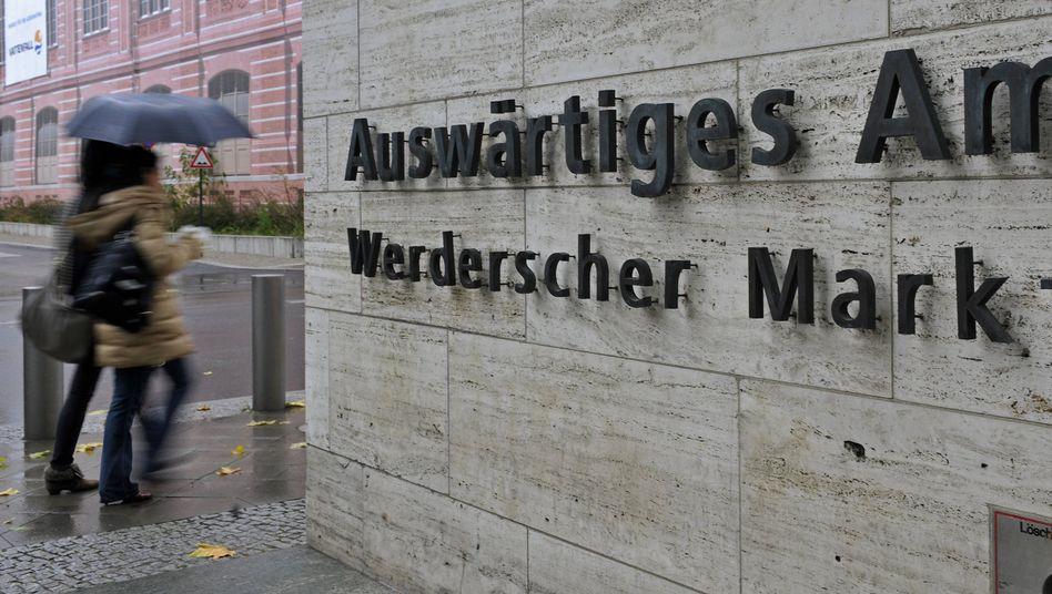 Auswärtiges Amt in Berlin: Kein Glück mit der deutschen Geschichte