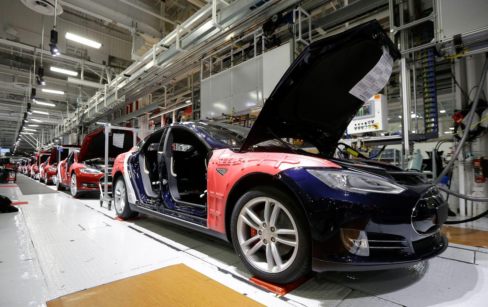 Tesla / Fremont Kalifornien