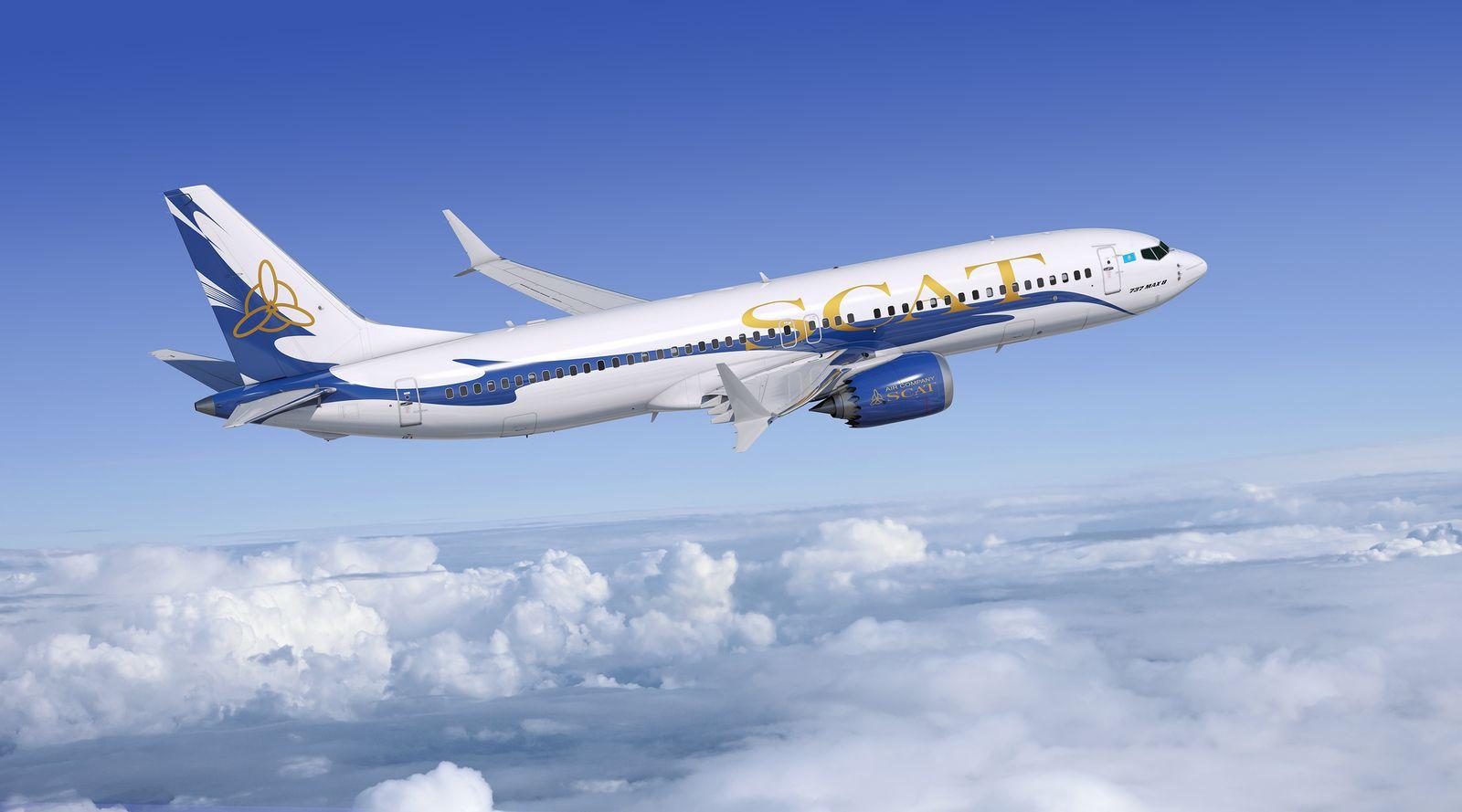 EINMALIGE VERWENDUNG Boeing 737 Max 8/ Flugzeug