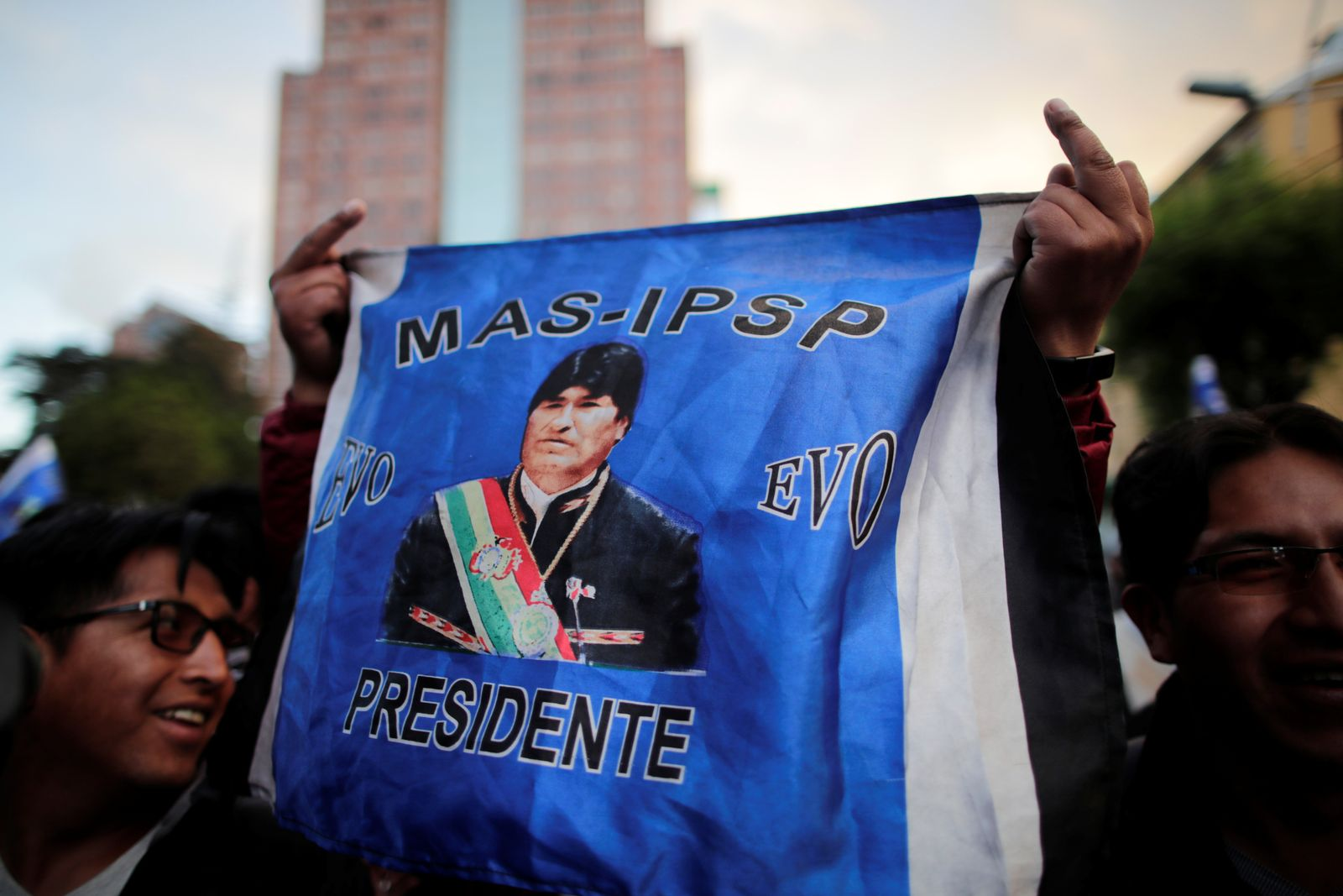 BOLIVIA-ELECTION/PROTEST