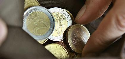 """Euro-Münzen: """"Wir pumpen sehr viel Liquidität in den Markt"""""""