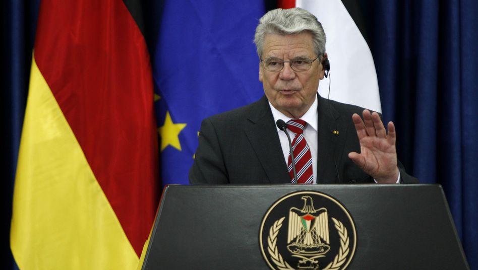 """Bundespräsident Gauck: """"Muslime, die hier leben, gehören zu Deutschland"""""""