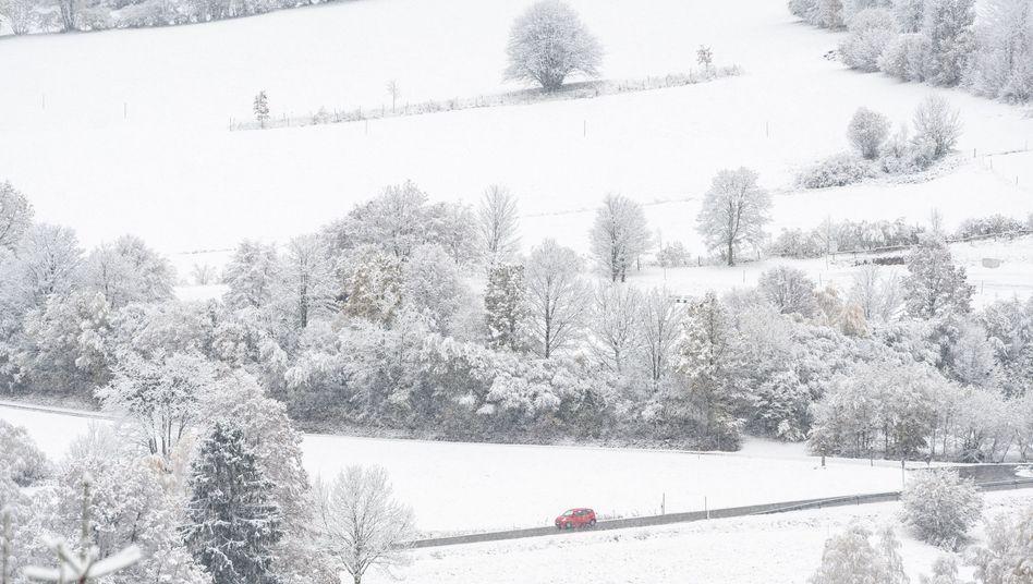 Schnee, Sonne, Regen: Viel Herbst, ein bisschen Winter