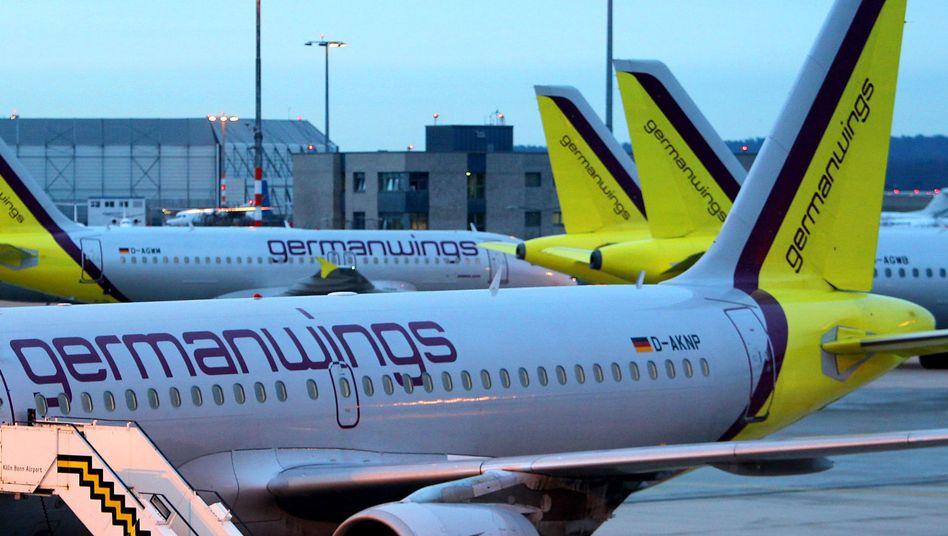 Germanwings-Maschinen: Ab dem Winterflugplan in Berlin-Tegel stationiert