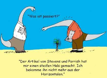 Saurier-Comic von Andreas Christian: Spaßiger Forscherstreit mit US-Kollegen