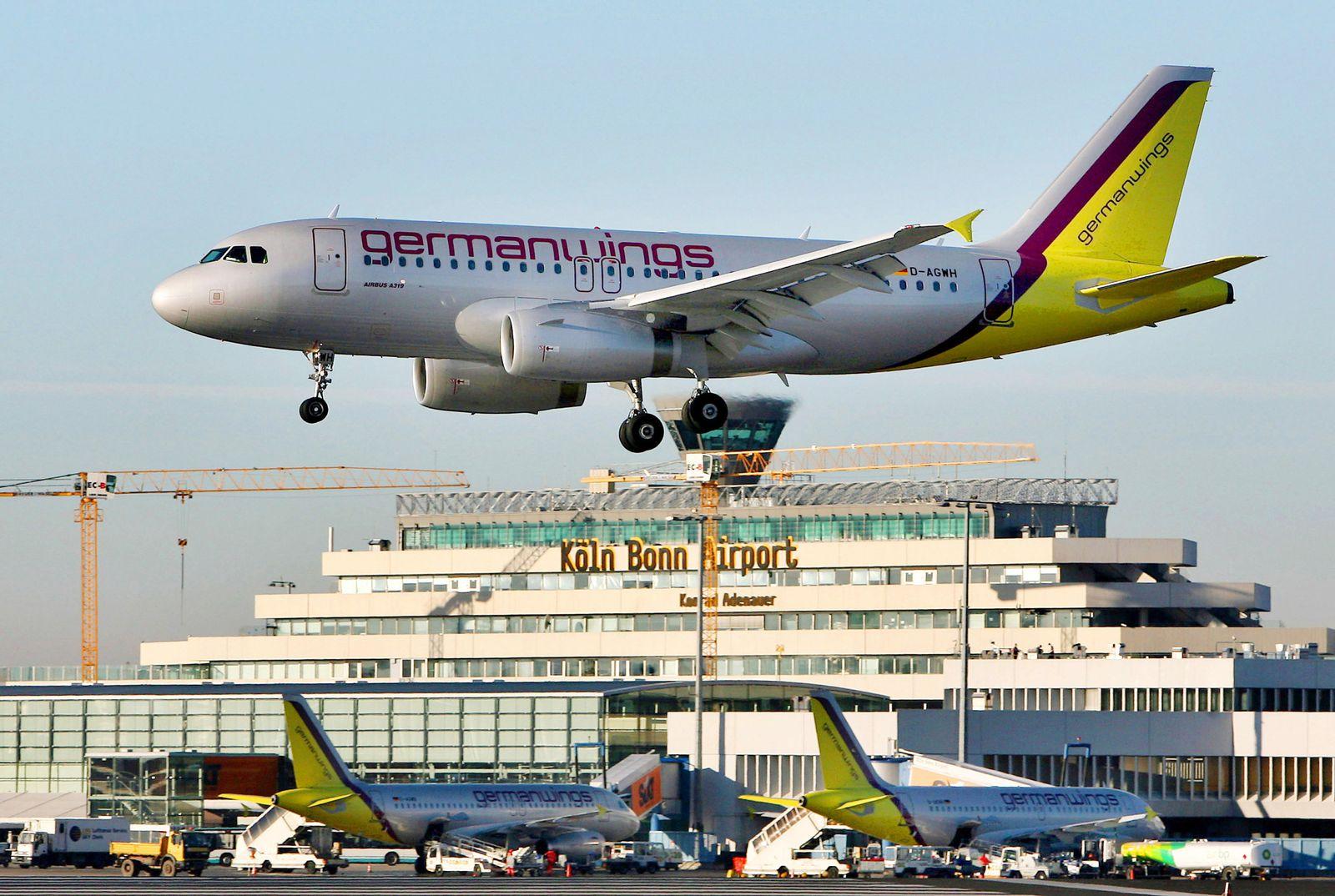Medien: Schwerer Zwischenfall bei Germanwings-Airbus