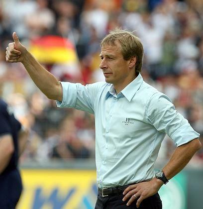 """Bundestrainer Klinsmann: """"Nettes Spielchen"""""""