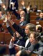 """Abstimmung im Europarat: Keine """"Regierung"""", aber ein Richtliniengremium mit großem Einfluss auf die europäischen Staaten"""