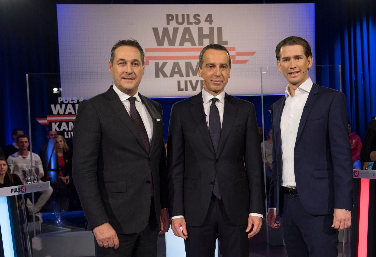 AUSTRIA-POLITICS-VOTE-DEBATE-TV