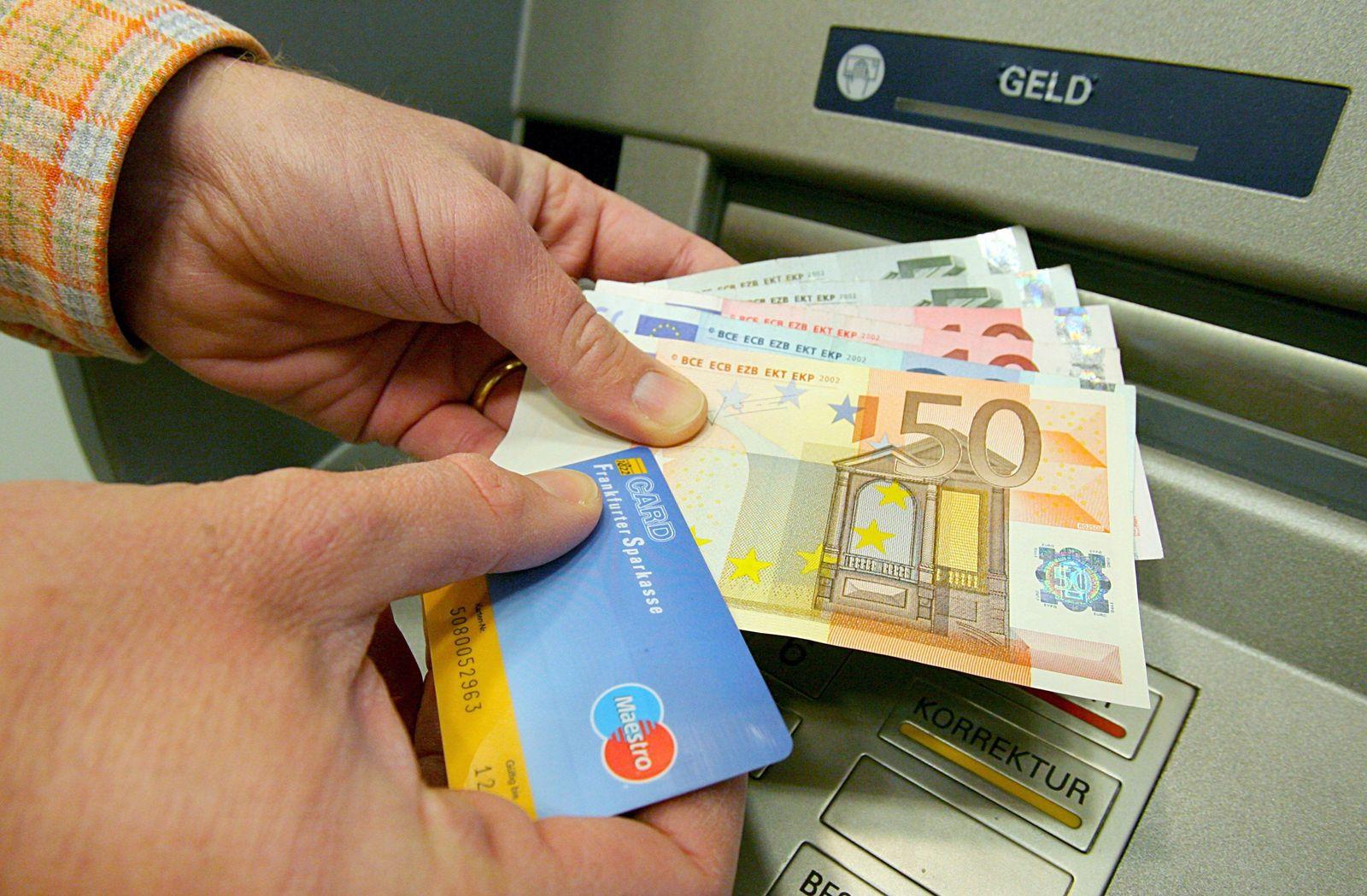 Geldautomat / Geld